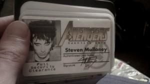 Avengers Membership Card
